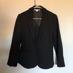 💙 2/$15 💙 Old Navy Black Ponte Knit Blazer